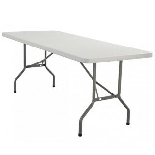 PenguinsUp Plastic Rectangular Folding Tables