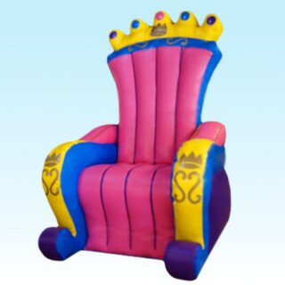 PenguinsUp Inflatable Princess Chair