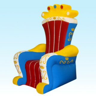 PenguinsUp Inflatable King's Chair