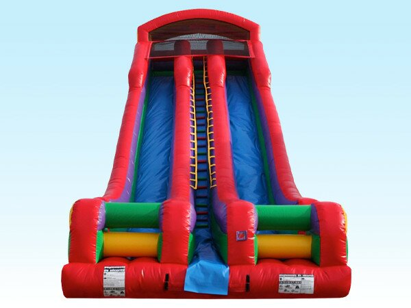 PenguinsUp 22Ft Rainbow Dual Slide