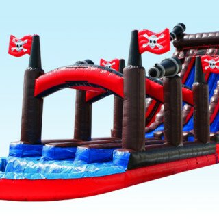 PenguinsUp 24FT Pirate Water Slide