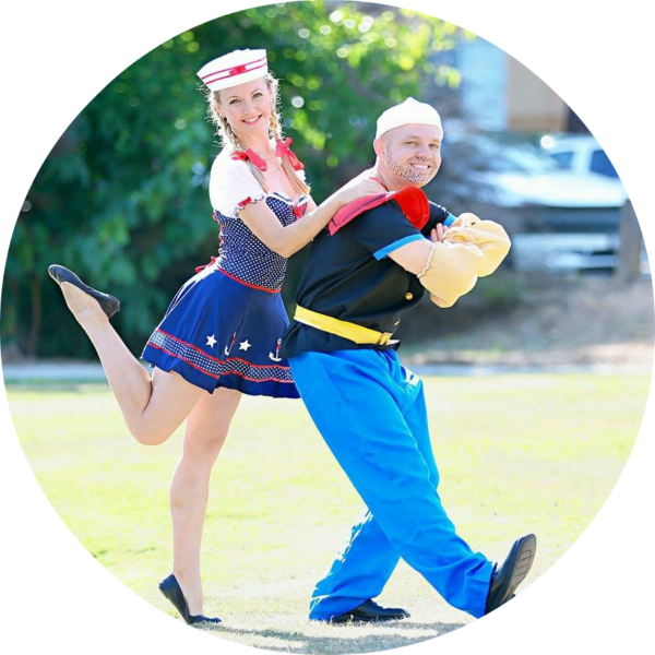 PenguinsUp Sailors (Popeye & Girlfriend)