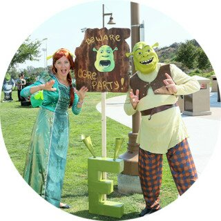 PenguinsUp Shrek & Princess Fiona